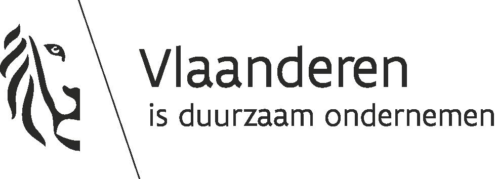 logo Vlaanderen is duurzaam ondernemen wit zwart png