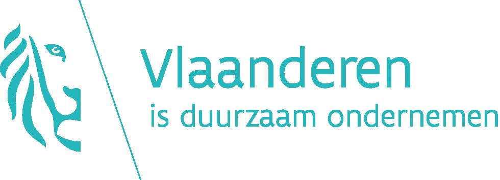 logo Vlaanderen is duurzaam ondernemen kleur png